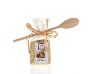 Polenta Funghi (met houten lepel) (6 per doos)