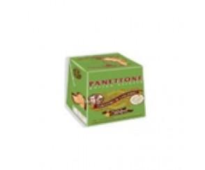Panettone 100 gr doos peer chocolade- Groen (36 per doos)