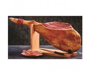 Paleta Serrano Bodega ham met bot met standaard (per stuk)