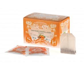 Thѐ Rooibos mandarino zenzero 30 gr x 10 (10 per doos)