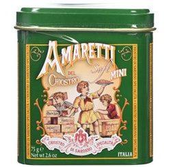 Amaretti tin soft (blikje vierkant) 75 gr (12 per doos)