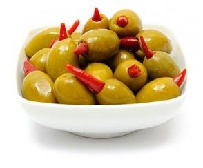 Olive piri piri 1200 gr (per stuk)