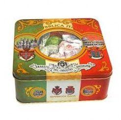 Amaretti crunchy tin Italia 150 gr (6 per doos)