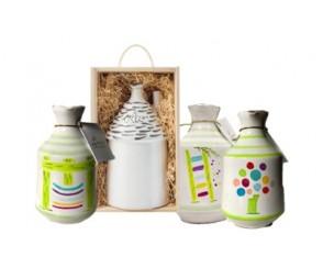 Olio di olive EV mix ceramic line 100ml (8 per doos)