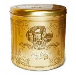 Panettone Classic Gold Ribbon - Bewaarblik 1000gr (5 per doos)