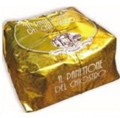 Panettone Classic Gold - Wrapped 750gr (9 per doos)
