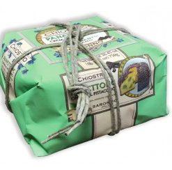 Panettone Pistacchio - Wrapped 750gr (9 per doos)