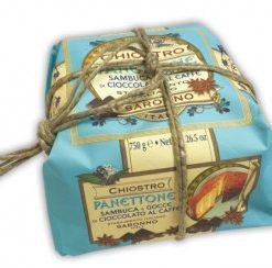 Panettone Sambuca en Coffee - Wrapped 750gr (9 per doos)