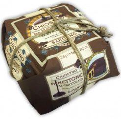 Panettone Chocolade - Wrapped 750gr (9 per doos)