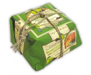 Panettone Peer en Chocolade - Wrapped 750gr (9 per doos)