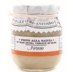 Pesto alla salvia in olio extra vergine di oliva- 180 gr (12 per doos)