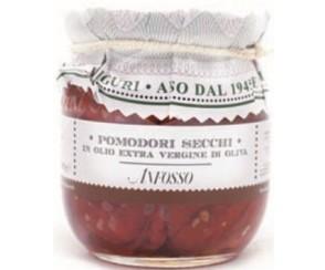 Pomodori secchi in olio di oliva- 180 gr (12 per doos)