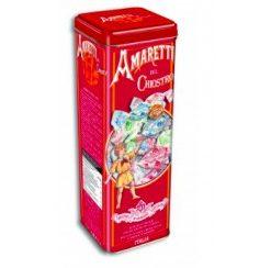 Amaretti crunchy tower tin - 175 gr (12 per doos)