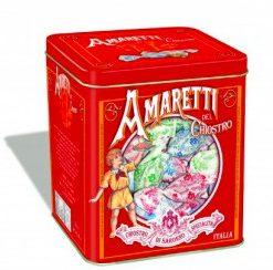 Amaretti crunchy cube tin - 250 gr (6 per doos)