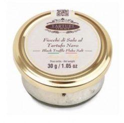 NIEUW Salt flakes black truffel 90 gr (12 per doos)