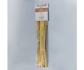 Tagliolini multicolore 125 gr (9 per doos)
