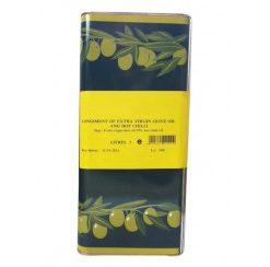 Olio di olive peperoncino 5000 ml (per stuk)