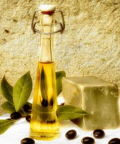 Olijfolie zeep sapone